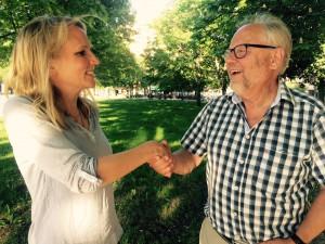 Lisa Edwinsson tar över efter Mats Taxén. Foto: Lennart Månsson