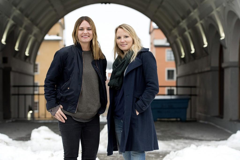 Jenny Modin och Lisa Edwinsson. Foto: Niklas Larsson/Bildbyrån