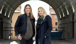 Lisa Edwinsson och Jenny Modin