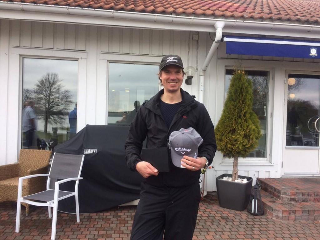 Gustaf Andersson, segrare i SKS-golfen.