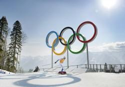 Johan Olsson under herrarnas stafett šver 4x10 km under OS i Sochi den 16 februari 2014. Foto: Carl Sandin / Bildbyrån