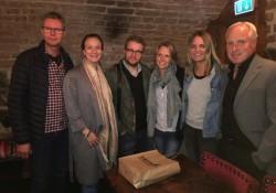 Delar av nya SKS-styrelsen. Ulf Niklasson, Lena Sundqvist, Lisa Edwinsson, Jenny Modin, Mats Olsson.